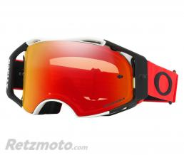 OAKLEY Masque OAKLEY Airbrake Red White écran Prizm MX Torch Iridium