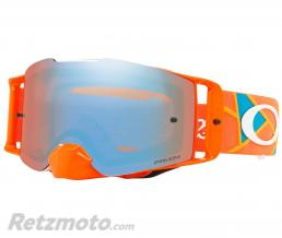 OAKLEY Masque OAKLEY Front Line Troy Lee Designs Metric Red/Orange écran Prizm MX Sapphire