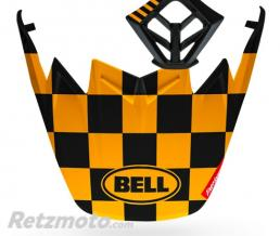BELL  Kit MX BELL Moto-9 Flex Fasthouse Checkers noir mat/jaune