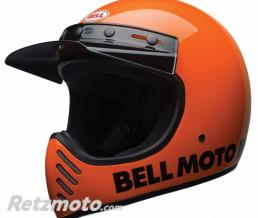 BELL  Casque BELL Moto-3 Classic Neon Orange taille XS