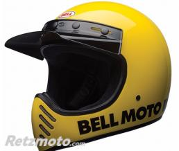 BELL  Casque BELL Moto-3 Classic Yellow taille XS