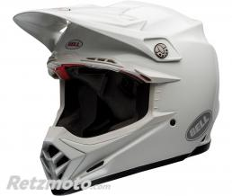 BELL  Casque BELL Moto-9 Flex Solid White taille XXL