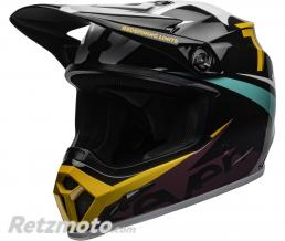 BELL  Casque BELL MX-9 MIPS Seven Ignite Gloss Black/Aqua taille M