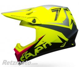 BELL  Casque BELL MX-9 MIPS Seven Ignite Neon Yellow taille XL
