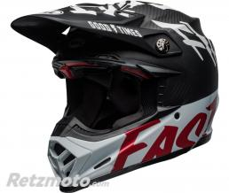 BELL  Casque BELL Moto-9 Flex Fasthouse WRWF Gloss Black/White/Red taille XXL