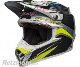 BELL  Casque BELL Moto-9 Flex Pro Circuit Replica 19 Gloss Black/Green taille XL