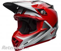 BELL  Casque BELL Moto-9 Flex Hound Matte/Gloss Red/White/Black taille S