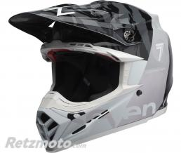 BELL  Casque BELL Moto-9 Flex Seven Zone Gloss Black/White/Chrome taille XL
