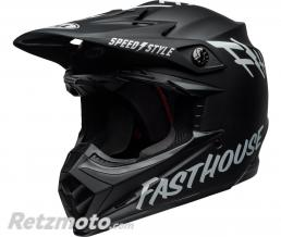 BELL  Casque BELL Moto-9 MIPS Fasthouse Gloss White/Black taille L