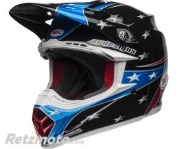 BELL  Casque BELL Moto-9 MIPS Tomac Replica 19 Eagle Gloss Black/Blue taille L
