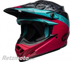 BELL  Casque BELL Moto-9 MIPS Chief Matte/Gloss Black/Pink/Blue taille S