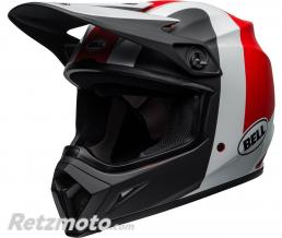 BELL  Casque BELL MX-9 MIPS Presence Matte/Gloss Black/White/Red taille L
