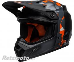 BELL  Casque BELL MX-9 MIPS Presence Matte/Gloss Black Neon Orange/Camo taille S