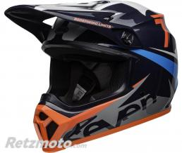BELL  Casque BELL MX-9 MIPS Seven Ignite Gloss Navy/Coral taille L