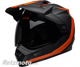 BELL  Casque BELL MX-9 Adventure MIPS Switchback Matte Black/Orange taille XL