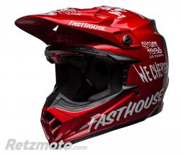 BELL  Casque BELL Moto-9 Flex Fasthouse DID 19 Matte/Gloss Red/Navy taille XXL