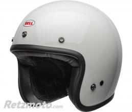 BELL  Casque BELL Custom 500 Solid Vintage blanc taille XXL