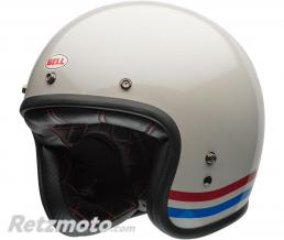 BELL  Casque BELL Custom 500 Stripes Pearl blanc taille L