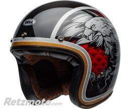 BELL  Casque BELL Custom 500 Carbon Osprey Gloss Black/Yellow taille XXL