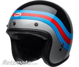 BELL  Casque BELL Custom 500 DLX Pulse Gloss Black/Blue/Red taille L