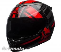 BELL  Casque BELL RS-2 Gloss Red/Black/Titanium Tactical taille XL