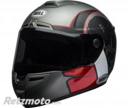 BELL  Casque BELL SRT Hart-Luck Gloss/Matte Charcoal/White/Red Skull taille L