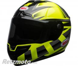 BELL  Casque BELL SRT Gloss HI-VIZ Green/Black Predator taille XL
