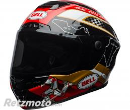BELL  Casque BELL Star MIPS Isle Of Man 18.0 Gloss Black/Gold taille L