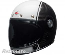 BELL  Casque BELL Bullitt Carbon Gloss White/Carbon Pierce taille XL