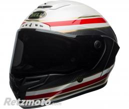 BELL  Casque BELL Race Star RSD Gloss/Matte White/Red Carbon Formula taille L