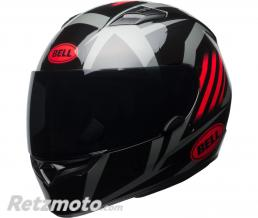 BELL  Casque BELL Qualifier Gloss Black/Red/Titanium Blaze taille XS
