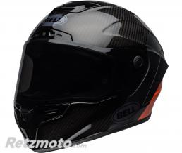 BELL  Casque BELL Race Star Flex Carbon Lux Matte/Gloss Black/Orange taille XL