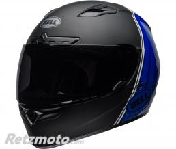 BELL  Casque BELL Qualifier DLX MIPS Illusion Matte/Gloss Black/Blue/White taille S
