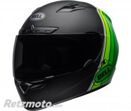 BELL  Casque BELL Qualifier DLX MIPS Illusion Matte/Gloss Black/Green taille XS