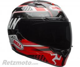 BELL  Casque BELL Qualifier DLX MIPS Isle Of Man 18 Gloss Black/Red taille XS