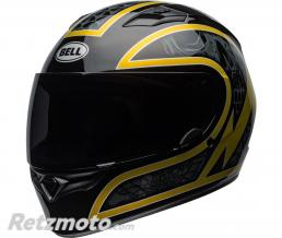 BELL  Casque BELL Qualifier Scorch Gloss Black/Gold Flake taille XS