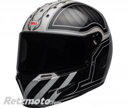 BELL  Casque BELL Eliminator Outlaw Gloss Black/White taille M/L