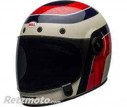 BELL  Casque BELL Bullitt Carbon Hustle Matte/Gloss Red/Sand/Candy Blue taille L