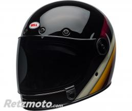 BELL  Casque BELL Bullitt DLX Burnout Gloss Black/White/Maroon taille XL