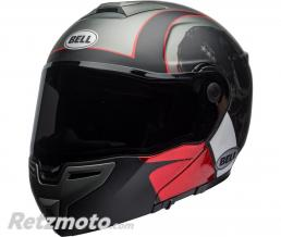 BELL  Casque BELL SRT Modular Hart-Luck Gloss Matte Charcoal/White/Red Skull taille S