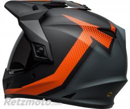 Casque BELL MX-9 Adventure MIPS Switchback Matte Black/Orange taille S
