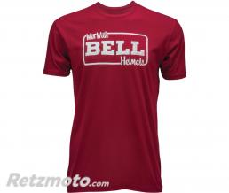 BELL  T-Shirt BELL Win With Bell rouge taille M