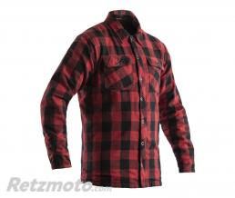 RST Veste textile RST Lumberjack Aramid CE rouge taille 2XL homme