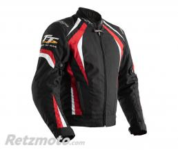 RST Veste textile RST TT Grandstand CE doublure amovible rouge taille S homme