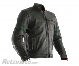 RST Veste cuir RST Hillberry CE vert taille 2XL homme