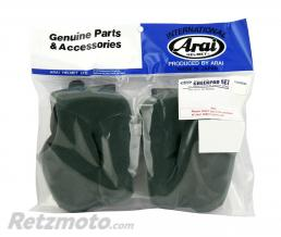 ARAI Mousses de joues ARAI Dry-Cool FCS 12mm pour casques Rebel/Chaser-V/Chaser-V PRO