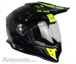 JUST1 Casque JUST1 J34 Adventure Shape Yellow Neon Gloss taille L