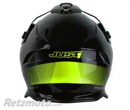 Casque JUST1 J34 Adventure Shape Yellow Neon Gloss taille M