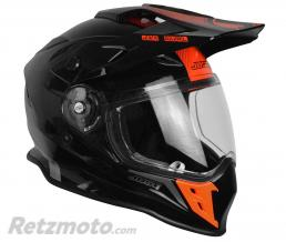 JUST1 Casque JUST1 J34 Adventure Shape Red Neon Gloss taille M