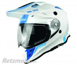 Casque JUST1 J34 Adventure Shape Blue Neon Gloss taille L